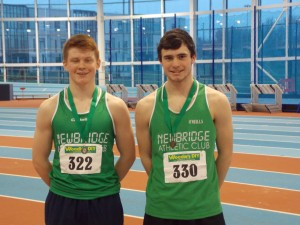Newbridges  boys in Green