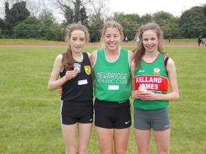 Aimee 1500m + 800m Champion