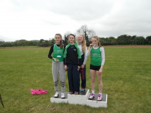 Girls U/14 Relay County Champions
