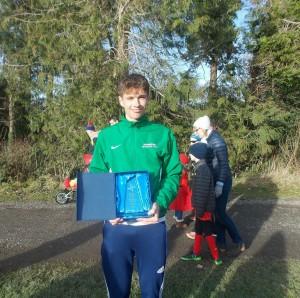 Overall County Senior Athlete of 2016 Mark Glynn
